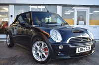 USED 2007 57 MINI CONVERTIBLE 1.6 COOPER S JCW 2d 208 BHP THE CAR FINANCE SPECIALIST