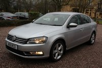 USED 2011 11 VOLKSWAGEN PASSAT 2.0 SE TDI BLUEMOTION TECHNOLOGY DSG 4d AUTO 139 BHP
