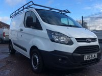 USED 2013 63 FORD TRANSIT CUSTOM SWB 2.2 290 LR P/V  99 BHP 1 OWNER FSH NEW MOT AIR CON FREE AA WARRANTY WITH RECOVERY AND ASSIST NEW MOT AIR CONDITIONING ROOF RACK ELECTRIC WINDOWS BLUETOOTH MULTI FUNCTIONAL STEERING WHEEL 6 SPEED REAR PARKING SENSORS
