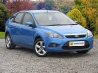USED 2009 58 FORD FOCUS 1.8 ZETEC 5dr 125 BHP CRUISE CONTROL AIR CONDITIONING ALLOY WHEELS
