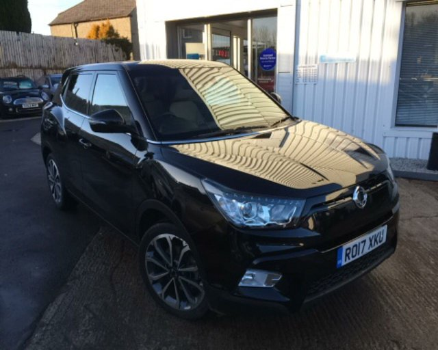 View our SSANGYONG TIVOLI