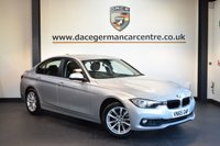 USED 2015 65 BMW 3 SERIES 2.0 320I SE 4DR 181 BHP + FULL SERVICE HISTORY + 1 OWNER FROM NEW + SATELLITE NAVIGATION + BLUETOOTH + CRUISE CONTROL + DAB RADIO + RAIN SENSORS + PARKING SENSORS + 17 INCH ALLOY WHEELS +