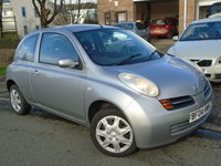 USED 2004 04 NISSAN MICRA 1.4 SE 3d 88 BHP NEW MOT ON SALE+CHEAP TO RUN