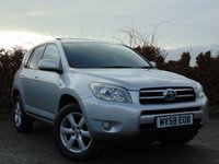 USED 2009 TOYOTA RAV4 2.0 VVTI XTR 5d AUTOMATIC * FULL TOYOTA SERVICE HISTORY * AUTOMATIC * FOUR WHEEL DRIVE *