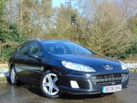 USED 2008 08 PEUGEOT 407 2.0 SW SE HDI 5d AUTO 135 BHP PANORAMIC ROOF, FULL SERVICE HISTORY