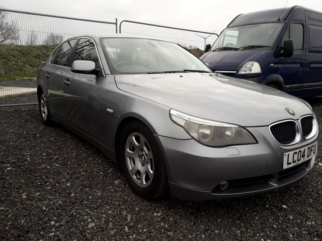 2004 04 BMW 5 SERIES 3.0 530D AUTOMATIC SALOON