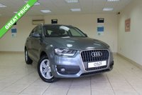 USED 2012 61 AUDI Q3 2.0 TDI QUATTRO SE 5d AUTO 175 BHP SATELLITE NAVIGATION, BLUETOOTH - PHONE & AUDIO, HEATED FRONT SEATS, BOSE SPEAKERS, REAR PARKING SENSORS