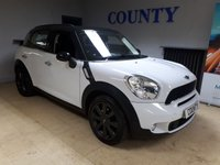 USED 2012 62 MINI COUNTRYMAN 2.0 COOPER SD 5d 141 BHP * ONE OWNER WITH HISTORY *