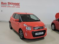 USED 2014 64 CITROEN C1 1.0 FLAIR 3d 68 BHP