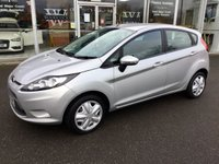 2009 FORD FIESTA 1.2 STYLE PLUS 5DR HATCHBACK 81 BHP £SOLD