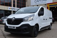 USED 2015 65 RENAULT TRAFIC 1.6 LL29 BUSINESS DCI S/R P/V 5d 115 BHP LWB FWD ECO DRIVE POWER WINDOW, MIRROR ONE OWNER FROM NEW