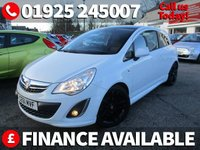 2011 VAUXHALL CORSA 1.2 LIMITED EDITION 3d 83 BHP £4795.00
