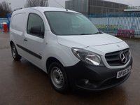 USED 2016 66 MERCEDES-BENZ CITAN 1.5 109 CDI BLUEEFFICIENCY, 90 BHP, DIRECT FROM MERCEDES BENZ