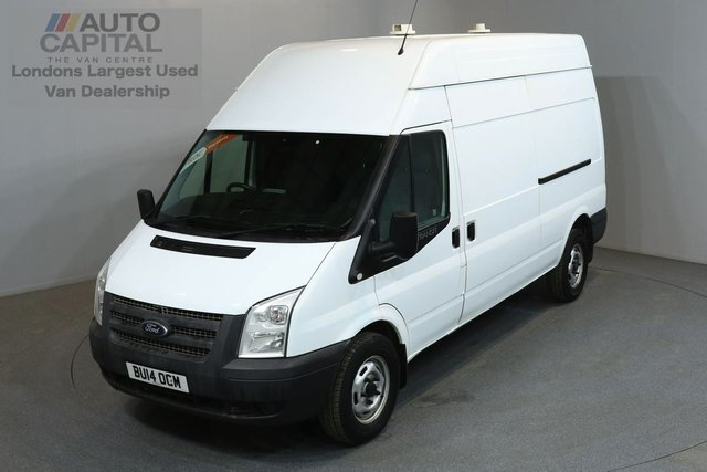 2014 14 FORD TRANSIT 2.2 350 124 BHP L3 H3 LWB HIGH ROOF ONE OWNER FROM NEW, SERVICE HISTORY