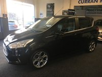 USED 2014 64 FORD B-MAX 1.6 TITANIUM X 5d AUTO 104 BHP Sat Nav and Reverse Camera