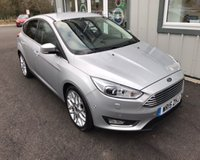 USED 2015 15 FORD FOCUS 1.0 TITANIUM X ECOBOOST 125 BHP THIS VEHICLE IS AT SITE 1 - TO VIEW CALL US ON 01903 892224