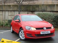 USED 2013 63 VOLKSWAGEN GOLF 1.6 SE TDI BLUEMOTION TECHNOLOGY 5d 103 BHP * 128 POINT AA INSPECTED *