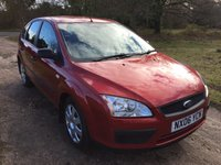 USED 2006 06 FORD FOCUS 1.6 LX 5d 100 BHP Alloy Wheels, Low Mileage, A/C