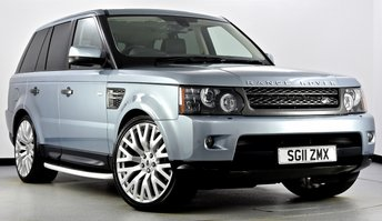 2011 LAND ROVER RANGE ROVER SPORT 3.0 TD V6 HSE 5dr Auto £21495.00