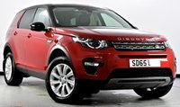 USED 2015 65 LAND ROVER DISCOVERY SPORT 2.0 TD4 SE Tech 4X4 5dr [7 Seats] Sat Nav, Power Boot, Privacy