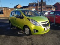 USED 2012 62 CHEVROLET SPARK 1.0 PLUS 5d 67 BHP LOW INSURANCE AND EXCELLENT FUEL ECONOMY!..LOW CO2 EMISSIONS..£30 ROAD TAX!...FULL SERVICE HISTORY...ONLY 10522 MILES FROM NEW!!..WITH AIR CONDITIONING!