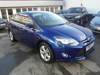 2014 FORD FOCUS 1.6 ZETEC 5d 104 BHP £8995.00