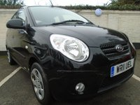 USED 2011 11 KIA PICANTO 1.1 DOMINO 5d 64 BHP GUARANTEED TO BEAT ANY 'WE BUY ANY CAR' VALUATION ON YOUR PART EXCHANGE
