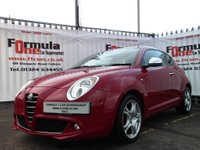 USED 2013 13 ALFA ROMEO MITO 0.9 TwinAir 8v Distinctive 3dr 1OWNER+FULL MOT+FREE TO TAX