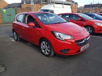 USED 2016 65 VAUXHALL CORSA 1.4 ENERGY AC ECOFLEX 5d 74 BHP VAUXHALL WARRANTY TO 05/02/2019!!..NEW MODEL ECOFLEX CORSA WITH FULL HISTORY!!..EXCELLENT FUEL ECONOMY!!..LOW CO2 EMISSIONS..£30 ROAD TAX!..ONLY 8909 MILES!