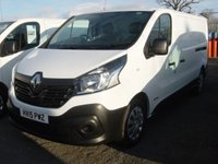 2015 RENAULT TRAFIC 1.6 LL29 BUSINESS DCI S/R P/V 1d 115 BHP LONG WHEELBASE VAN £SOLD