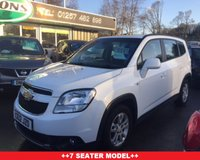USED 2012 12 CHEVROLET ORLANDO 2.0 LT VCDI 5d AUTO 163 BHP