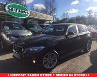 2016 BMW 1 SERIES 1.5 116D SPORT 5d 114 BHP £12489.00