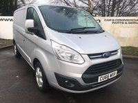 2017 FORD TRANSIT CUSTOM  290 2.0 130 BHP LIMITED L1 H1 **70 VANS IN STOCK** £14550.00