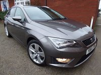 USED 2014 64 SEAT LEON 2.0 TDI FR TECHNOLOGY 5d 150 BHP What A Car, Great Specification, Great Performance & Fantastic Economy