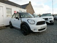 USED 2014 64 MINI COUNTRYMAN Cooper D ALL4 1.6TD 5dr ( 112 bhp ) One Previous Owner Chili Pack
