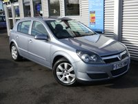 2005 VAUXHALL ASTRA 1.6 BREEZE 16V TWINPORT 5d AUTO £2980.00
