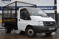 USED 2008 58 FORD TRANSIT 2.4 350 MWB 1d 100 BHP TIPPER