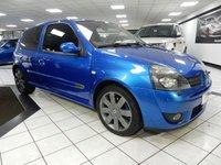 2005 RENAULT CLIO 2.0 16V RENAULTSPORT 182 BHP £2450.00