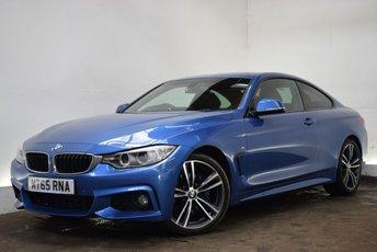 2015 BMW 4 SERIES 2.0 420D M SPORT 2d AUTO 188 BHP £20290.00