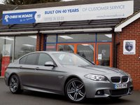 USED 2015 65 BMW 5 SERIES 2.0 520D M SPORT 4dr AUTO (188) * Pro Nav & 19inch Alloys * *ONLY 9.9% APR with FREE Servicing*