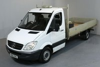 USED 2012 62 MERCEDES-BENZ SPRINTER 2.1 313 CDI LWB 2d 129 BHP DROPSIDE REAR TOW FITTED DROPSIDE LORRY ONE OWNER FROM NEW