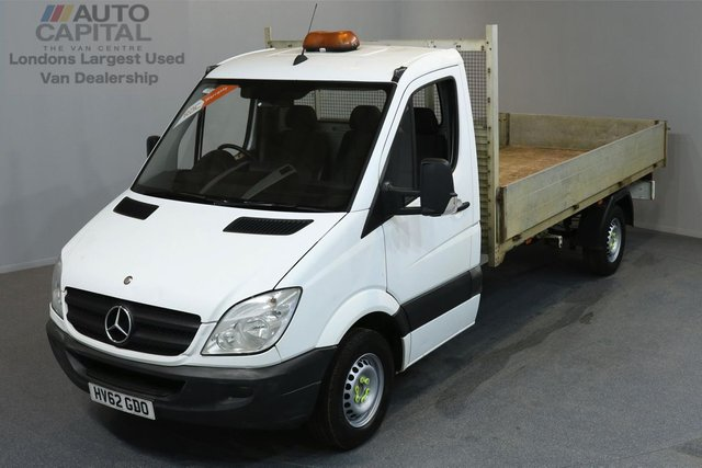 2012 62 MERCEDES-BENZ SPRINTER 2.1 313 CDI LWB 2d 129 BHP DROPSIDE LORRY ONE OWNER FROM NEW
