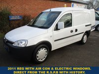 2011 VAUXHALL COMBO WITH AIR-CON & ELECTRIC WINDOWS FROM THE R.S.P.B. £2995.00