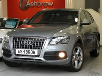 USED 2012 12 AUDI Q5 2.0 TDI QUATTRO S LINE SPECIAL EDITION 5d AUTO 170 S/S 20 INCH 'OFF ROAD' DESIGN ALLOYS, FULL BLACK MILANO LEATHER W/ SPORTS FRONT SEATS, BI XENONS W/ LED DRL, BLUETOOTH, DAB, ELECTRIC TAILGATE, TINTED REAR WINDOWS, AUX IN FOR IPOD/MP3, SD CARD READER X1, BANG & OLUFSEN + FACTORY SUBWOOFER UNDER BOOT CARPET, SPEECH DIALOGUE SYSTEM, REAR PARKING SENSORS, HILL DESCENT CONTROL, LEATHER 3 SPOKE MULTI FUNCTION STEERING WHEEL W/ PADDLE SHIFT, AUTO DIM REAR VIEW, AUTO LIGHTS + WIPERS, QUATTRO 4X4,DIS TRIP COMPUTER W/ DIGITAL SPEED DISPLAY, ELEC HTD MIRRORS