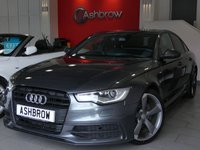 USED 2014 14 AUDI A6 SALOON 2.0 TDI S LINE BLACK EDITION 4d 177 S/S UPGRADE HEATED FRONT SEATS, UPGRADE ELECTRIC FOLDING HEATED DOOR MIRRORS, SAT NAV, BLUETOOTH PHONE & MUSIC STREAMING, DAB RADIO, BOSE SOUND SYSTEM, AUDI MUSIC INTERFACE (AMI), LED XENON LIGHTS, 20 INCH 5 SPOKE ROTOR ALLOYS, PRIVACY GLASS, FRONT & REAR PARKING SENSORS WITH DISPLAY, FULL BLACK LEATHER, SPORT SEATS, LEATHER MULTI FUNCTION STEERING WHEEL, CRUISE CONTROL, AUTO HILL HOLD, 1 OWNER FROM NEW, FULL AUDI SERVICE HISTORY