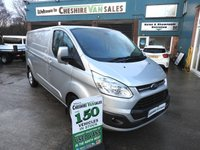 2014 FORD TRANSIT CUSTOM 2.2 290 LIMITED LWB 1d 125 BHP AIR CON ELECTRIC PACK £12995.00