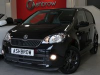 USED 2014 64 SKODA CITIGO 1.0 BLACK EDITION 5d 60 BHP £20 TAX, SEAT PORTABLE UNIT, SAT NAV, BLUETOOTH W/ AUDIO STREAMING, AUX IN FOR IPOD / USB, PRIVACY GLASS, BLACK 15 IN AURIGA ALLOY WHEELS, TYRE PRESSURE MONITORING SYSTEM, ELECTRIC WINDOWS, FRONT FOG LIGHTS, REV COUNTER, EXTERNAL TEMPERATURE DISPLAY, VAT Q