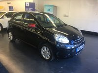 USED 2012 62 NISSAN MICRA 1.2 ACENTA 5d 79 BHP FULL SERVICE HISTORY,  1 PREVIOUS OWNER