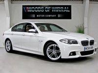 2015 BMW 5 SERIES 2.0 520D M SPORT 4d AUTO 188 BHP £16980.00