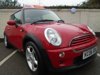2006 MINI HATCH ONE 1.6 ONE 3d 89 BHP £2299.00